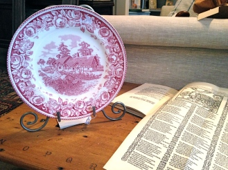 Shakespeare China Plate