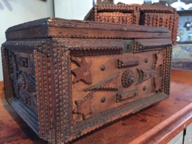 Carved Trampart Box