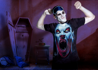 Greg as a Vamp